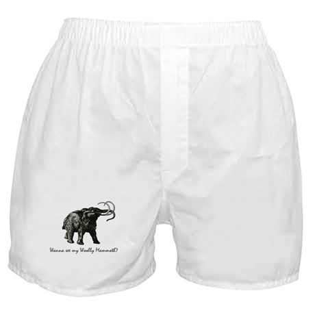 Woolly Mammoth Pick Up Boxer Shorts