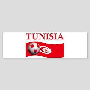TEAM TUNISIA WORLD CUP Bumper Sticker