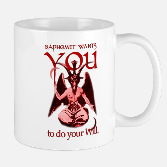 Baphomet Wants You Large Mugs