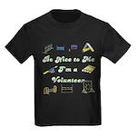 Agility Volunteer v2 Kids Dark T-Shirt