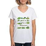 Agility Volunteer v2 Women's V-Neck T-Shirt