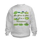 Agility Volunteer v2 Kids Sweatshirt