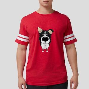 Big Nose/Butt Border Collie T-Shirt