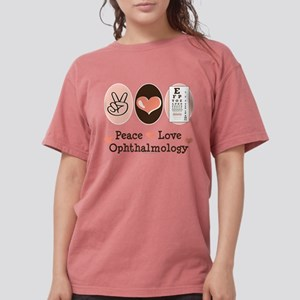Peace Love Ophthalmology T-Shirt