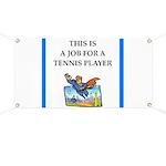 tennis joke Banner