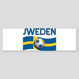 TEAM SWEDEN WORLD CUP Bumper Sticker