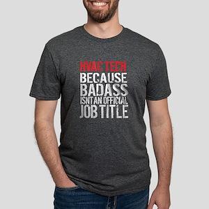 Badass HVAC Tech Women's Dark T-Shirt
