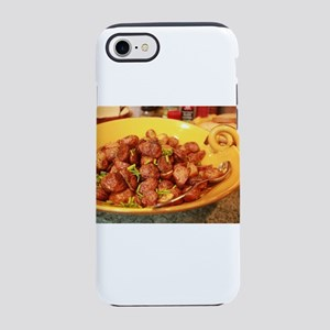 potatoes in yellow dish iPhone 8/7 Tough Case