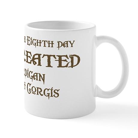 God Created Cardigans Mug