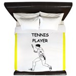 tennis joke King Duvet