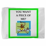 tennis joke Pillow Sham