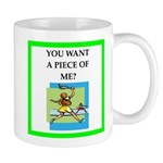tennis joke Mugs