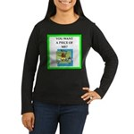 tennis joke Long Sleeve T-Shirt