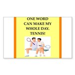 tennis joke Sticker