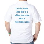 Whine Free Zone Golf Shirt