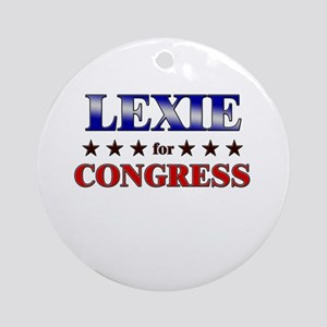 LEXIE for congress Ornament (Round)