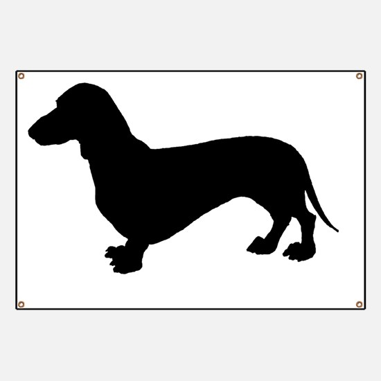Cute Hound dogs Banner
