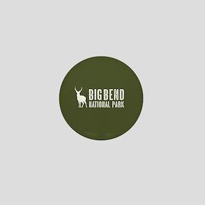 Deer: Big Bend National Park, Texas Mini Button