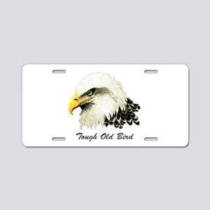 Tough Old Bird Quote with B Aluminum License Plate