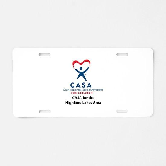 Cute Casa Aluminum License Plate