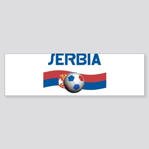 TEAM SERBIA WORLD CUP Bumper Sticker