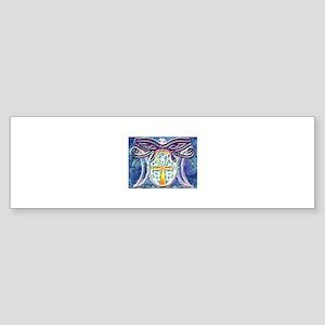 Eye's Of Gaia (Blue) Bumper Sticker