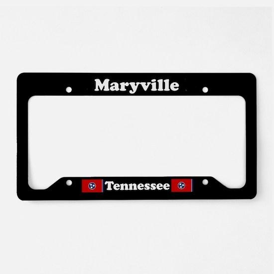 Maryville TN - LPF License Plate Holder