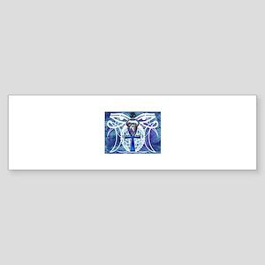 Eyes Of Gaia (Inverse Blue) Bumper Sticker
