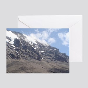 Mt. Kilimanjaro Greeting Card