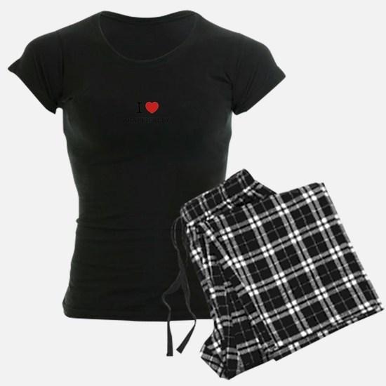 I Love AGAPEICALLY Pajamas