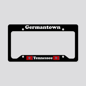 Germantown TN - LPF License Plate Holder