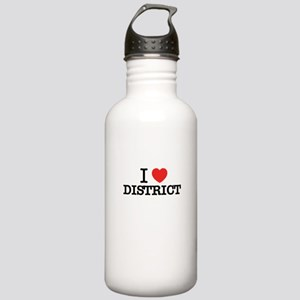 I Love DISTRICT Stainless Water Bottle 1.0L