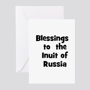 Blessings  to  the  Inuit of  Greeting Cards (Pk o