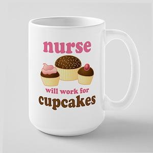 Nurse Gift Cupcakes Mugs