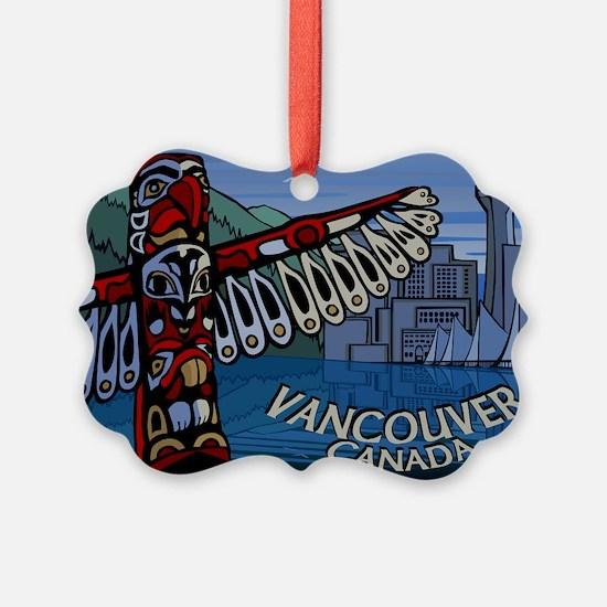 Vancouver Canada Souvenir Ornament