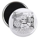 Vancouver Canada Souvenir Magnet Magnets