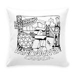 Vancouver Canada Souvenir Everyday Pillow