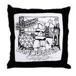 Vancouver Canada Souvenir Throw Pillow