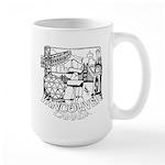 Vancouver Canada Souvenir 15 oz Ceramic Large Mug