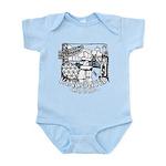 Vancouver Canada Souvenir Baby Light Bodysuit
