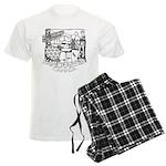 Vancouver Canada Souvenir Men's Light Pajamas