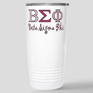 Pink Beta Sigma Phi Sorority Mugs