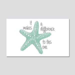 Makes A Difference 20x12 Wall Decal