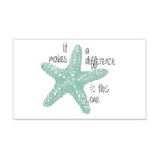 Makes A Difference Wall Decal
