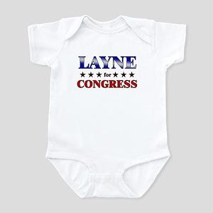 LAYNE for congress Infant Bodysuit