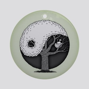 Nest In Peace Round Ornament