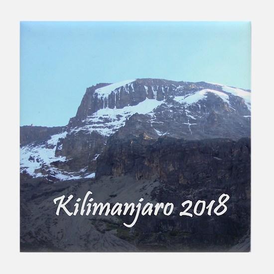 Kilimanjaro 2018 Tile Coaster
