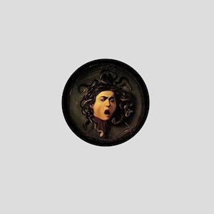 Caravaggio's Medusa Mini Button