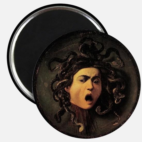 """Caravaggio's Medusa 2.25"""" Magnet (10 pack)"""