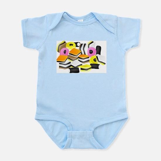 Licorice Allsorts Infant Creeper